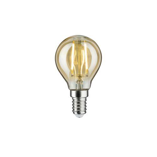 Höffner LED Vintage Tropfen E14/ 2W gold Ø: 4.5