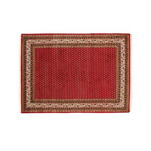 Höffner Handgeknüpfter Teppich  Sakki Mir ¦ rot ¦ Wolle