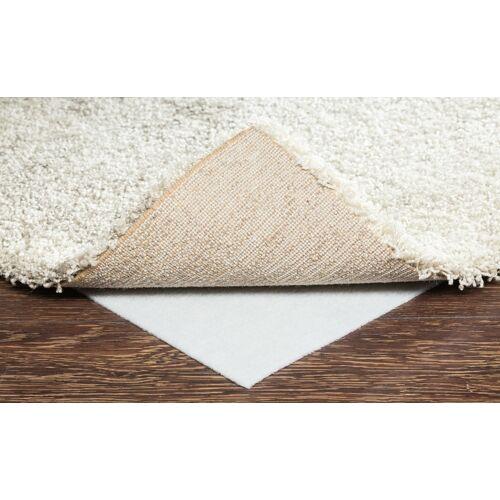 Höffner Teppich-Stopp für glatte Bodenbeläge  AKO Vlies ¦ weiß ¦ 100% Poyeste