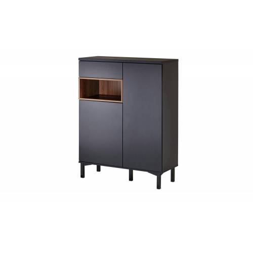 Roomers Highboard  Case ¦ schwarz