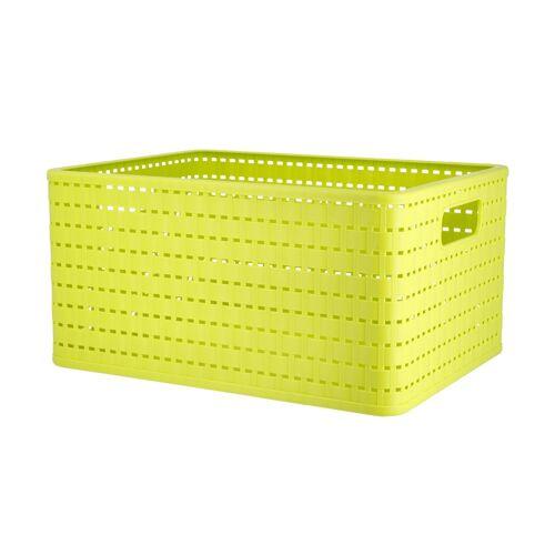 Rotho Aufbewahrungsbox ¦ grün ¦ Kunststoff
