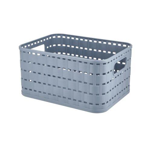 Rotho Aufbewahrungsbox ¦ blau ¦ Kunststoff