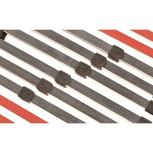 Höffner Lattenrost  Dormaflex 520 Ultraflach ¦ schwarz
