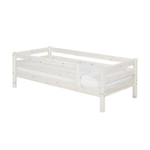 FLEXA Bett 90 x 200 Holz Flexa Classic ¦ weiß