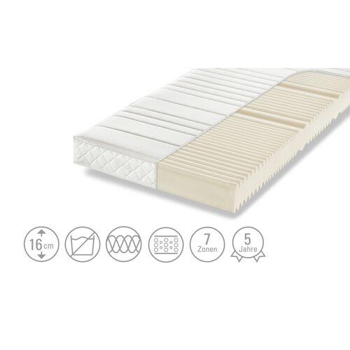 Dreamer eXpress 7-Zonen-Komfortschaumkernmatratze  Puro 1 ¦ weiß ¦ Ma