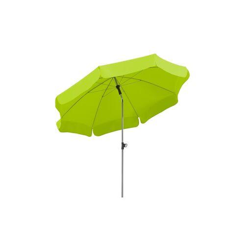 Höffner Sonnenschirm  Locarno ¦ grün Ø: 200