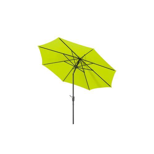 Höffner Sonnenschirm  Harlem ¦ grün Ø: 270