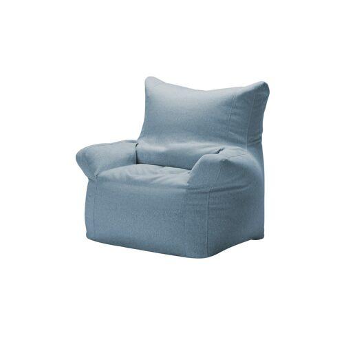 Höffner Sitzsack Sessel  Fiete ¦ blau