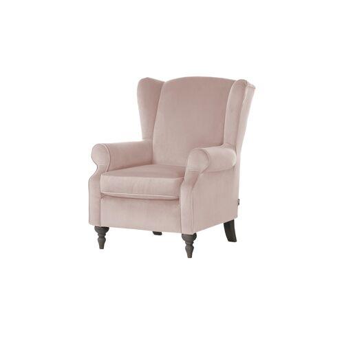 Höffner Ohrensessel  Cozy ¦ rosa/pink