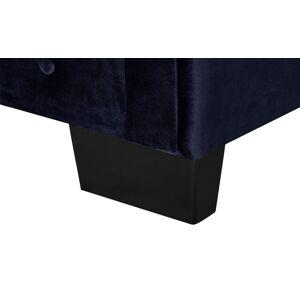 smart Sofa 3-sitzer  Chelli ¦ blau ¦ Maße (cm): B: 206 H: 77 T: 96