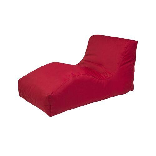 Outbag Sitzsack  Wave Plus ¦ rot ¦ Maße (cm): B: 70 H: 65 T: 125