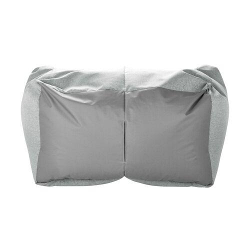 Höffner Sitzsack-Sofa  Lou ¦ grau