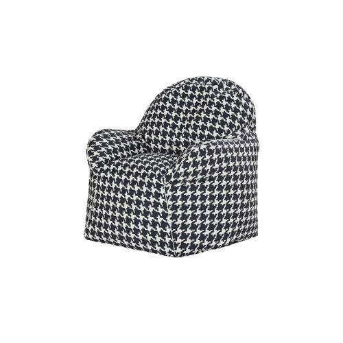 Höffner Sitzsack-Sessel  Todd ¦ schwarz ¦ Maße (cm): B: 85 H: 70 T: 80