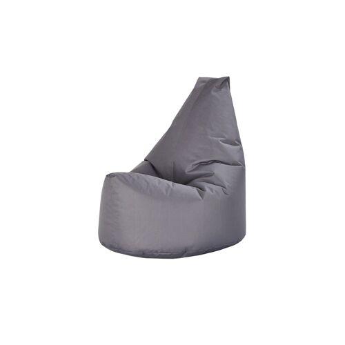 Höffner Sitzsack  Sam ¦ grau