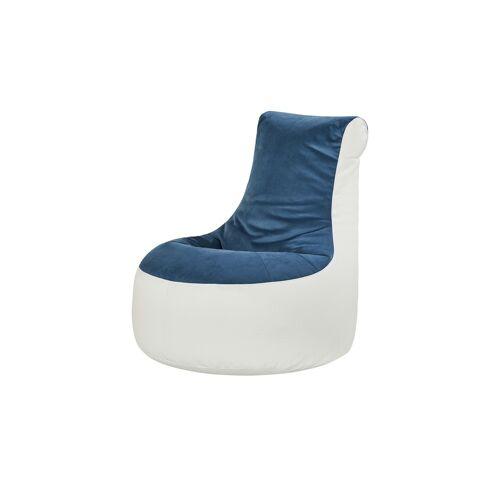 Höffner Sitzsack  Ben ¦ blau