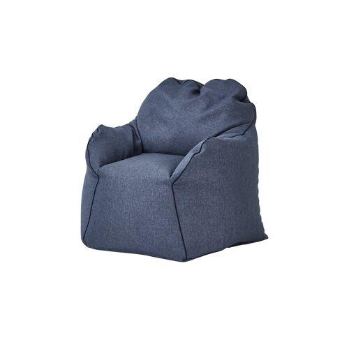 Höffner Sitzsack-Sessel  Tedd ¦ blau