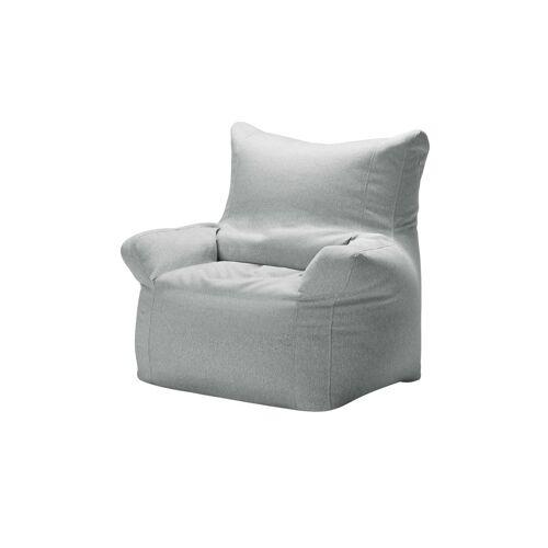 Höffner Sitzsack Sessel  Fiete ¦ grau