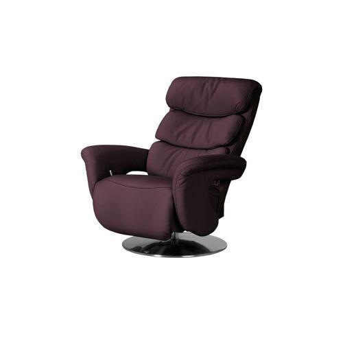 himolla Leder-Relaxsessel rot - Leder 7228 ¦ rot ¦ Maße (cm): B: 83 H
