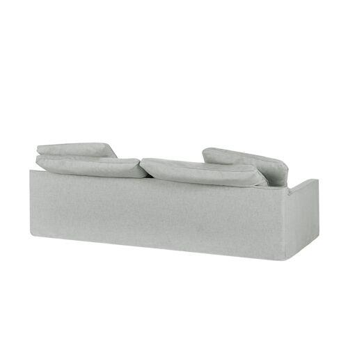 SOHO Sofa 3-sitzig  Sarvika ¦ grau ¦ Maße (cm): B: 233 H: 95 T: 114