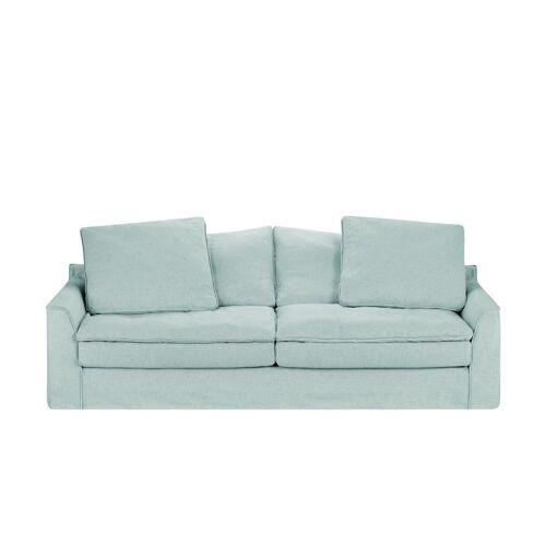 SOHO Sofa 3-sitzig  Sarvika ¦ blau ¦ Maße (cm): B: 233 H: 95 T: 114
