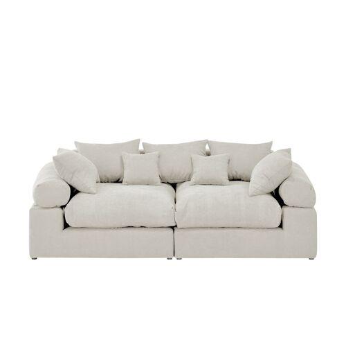 smart Big Sofa  Lionore ¦ weiß