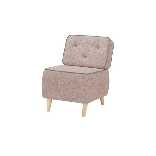 Höffner Sessel  Kamilla ¦ rosa/pink