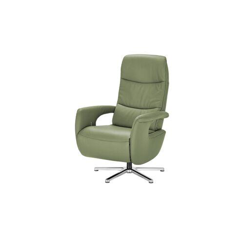 Hukla Relaxsessel  Enno ¦ grün ¦ Maße (cm): B: 72 H: 110 T: 85