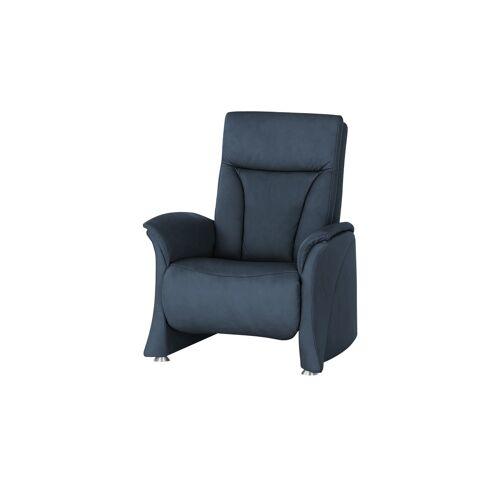 himolla Sessel  4010 ¦ blau ¦ Maße (cm): B: 75 H: 108 T: 88