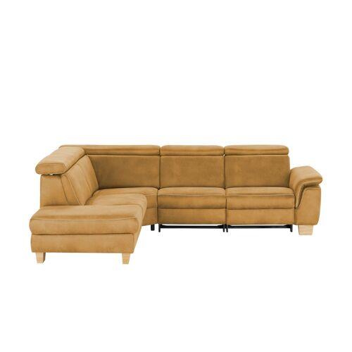 Mein Sofa bold Ecksofa  Beata ¦ gelb ¦ Maße (cm): B: 270 H: 80 T: 233