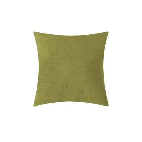 Höffner Kissen  Sally ¦ grün