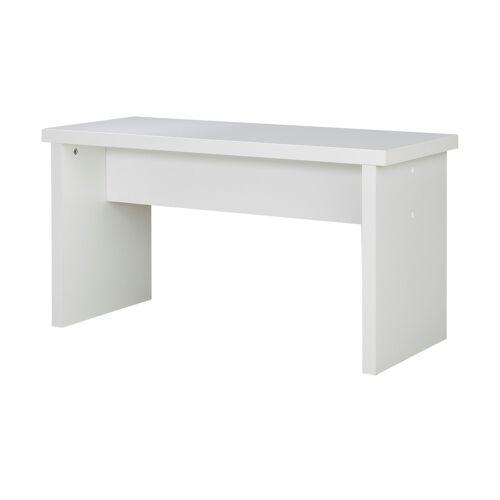 Höffner Sitzbank  FleX ¦ weiß ¦ Maße (cm): B: 37 H: 46,5