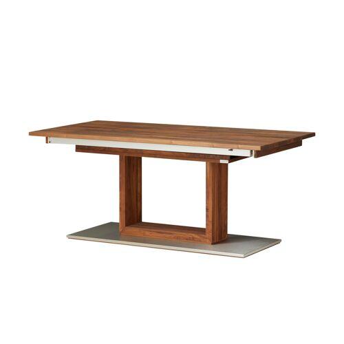 Wohnwert Esstisch  Der Säulentisch ¦ holzfarben ¦ Maße (cm): B: 90 H: