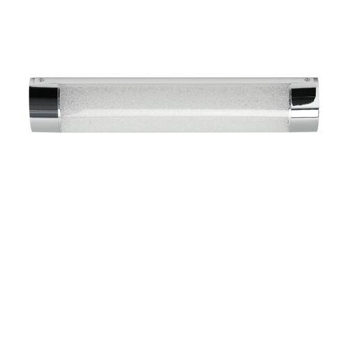 Höffner LED-Badleuchte, 1-flammig, Kristalloptik ´klein´ ¦ silber