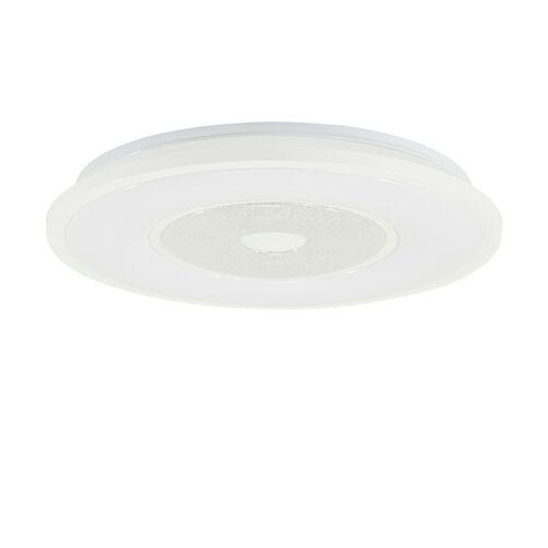 KHG LED-Deckenleuchte, 1-flammig, Kristalloptik ¦ weiß Ø: 51