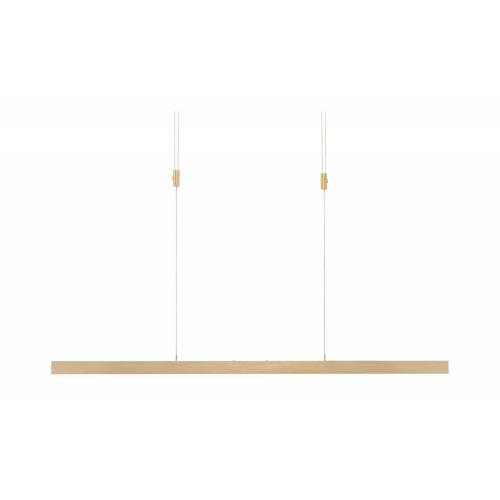 Paul Neuhaus LED-Pendelleuchte, messing-matt mit Touchdimmer ¦ gold