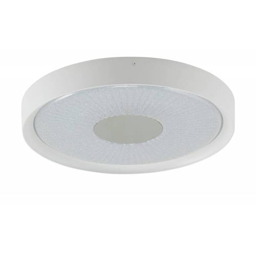 KHG LED-Deckenleuchte, Kristalloptik ¦ weiß Ø: 50