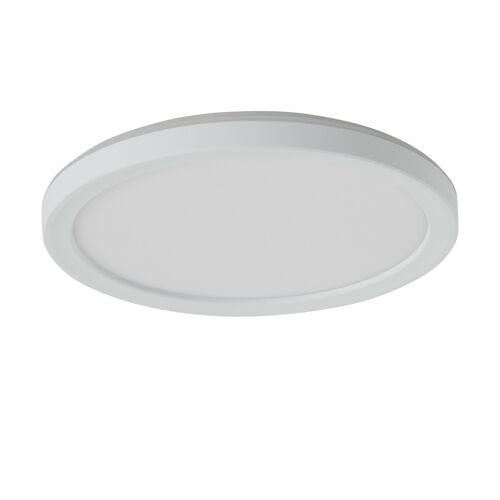 Höffner LED-Panel, weiß mit Hintergrundbeleuchtung ¦ weiß Ø: 19