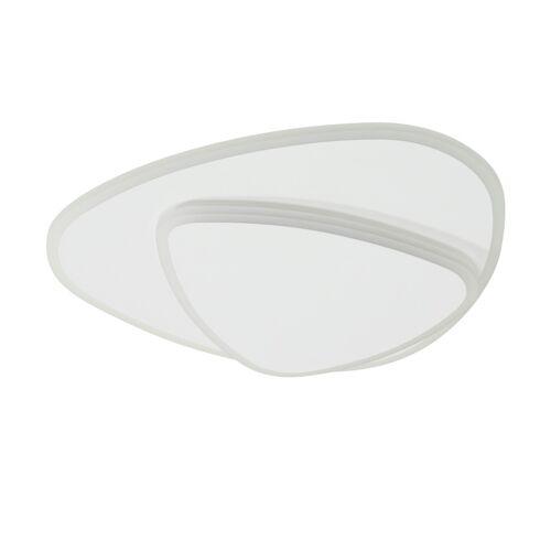 KHG LED-Deckenleuchte, weiß `Ovale` ¦ weiß