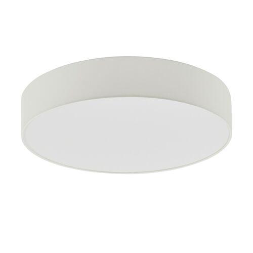 KHG LED-Deckenleuchte Stoffschirm, weiß ¦ weiß ¦ Maße (cm): H: 13 Ø: