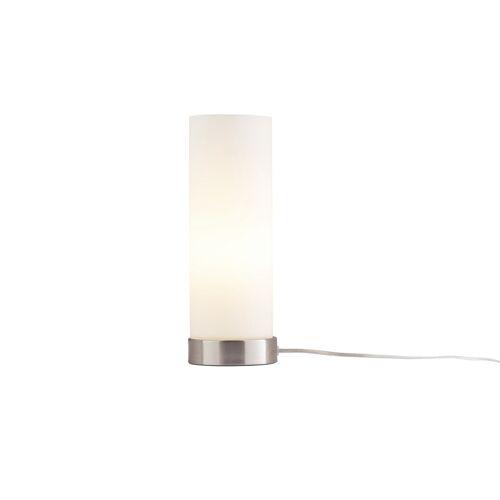 KHG Tischlampe aus Glas ¦ silberØ: 10.5