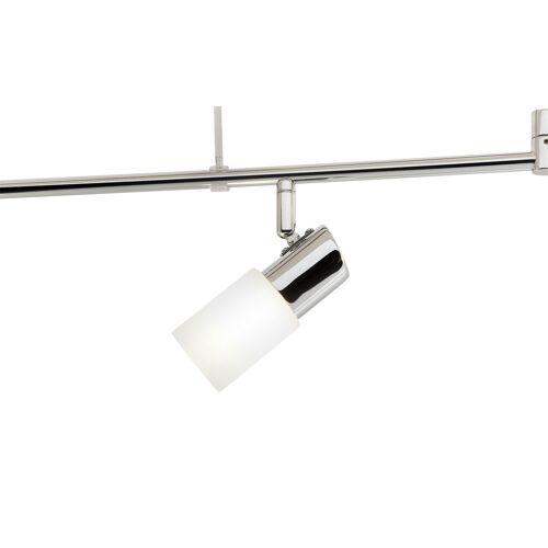Trio LED-Deckenstrahler mit schwenkbaren Armen ¦ silber