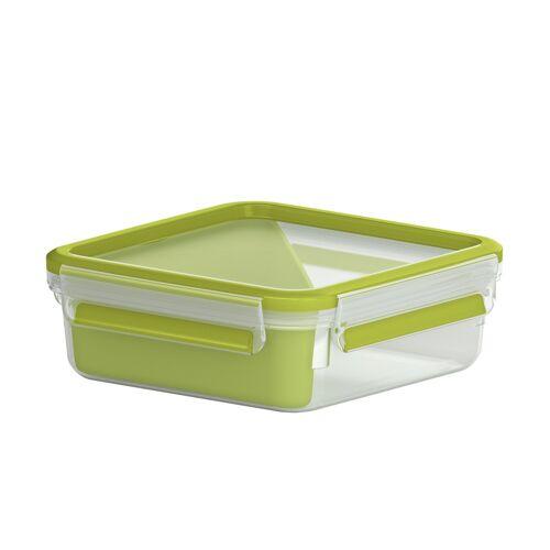 emsa Sandwichbox 0,865 l  Clip & Go ¦ grün ¦ Kunststoff