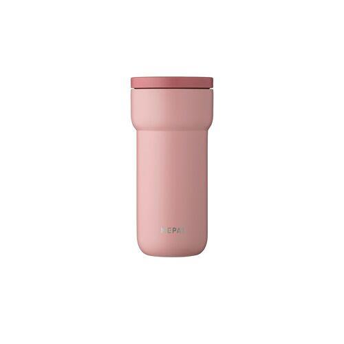 Mepal Thermobecher 375 ml  Ellipse ¦ rosa/pink ¦ doppelwandiger Edels