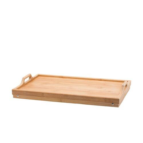 KHG Bett-Tablett aus Bambus ¦ holzfarben ¦ Bambus