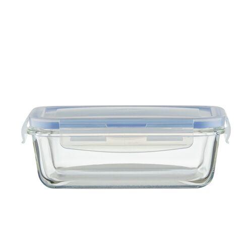 KHG Aufbewahrungsdose, 850 ml ¦ Kunststoff, Glas