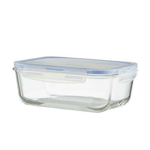 KHG Aufbewahrungsdose, 1850 ml ¦ Kunststoff, Glas