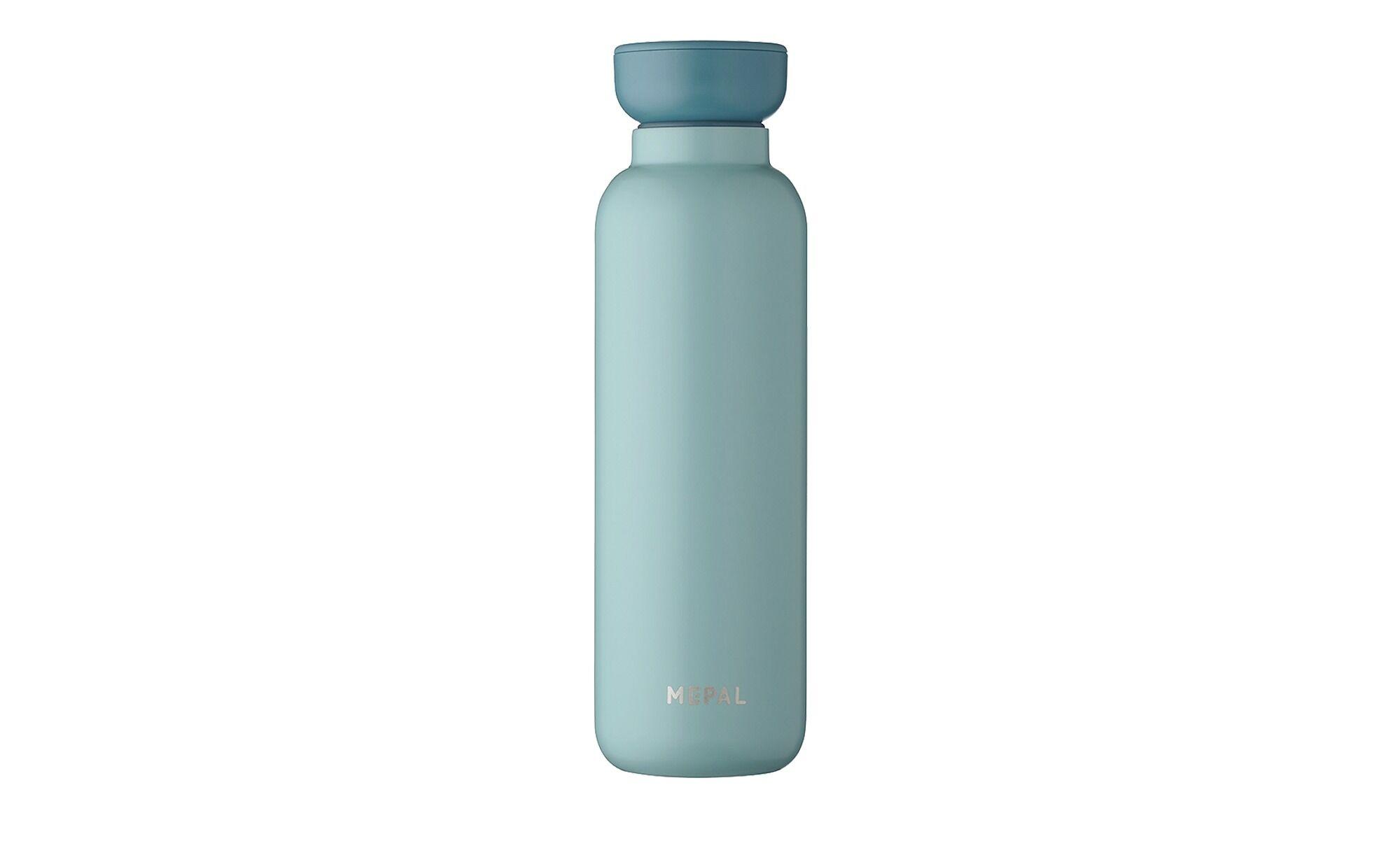Mepal Thermoflasche 500 ml  Ellipse ¦ grün ¦ Edelstahl, Kunststoff Ø: