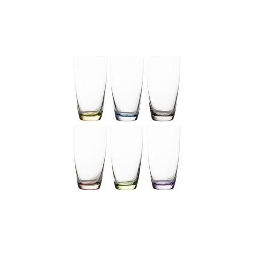Peill+Putzler Gläserset, 6-teilig  Viva ¦ mehrfarbig ¦ Kristallglas