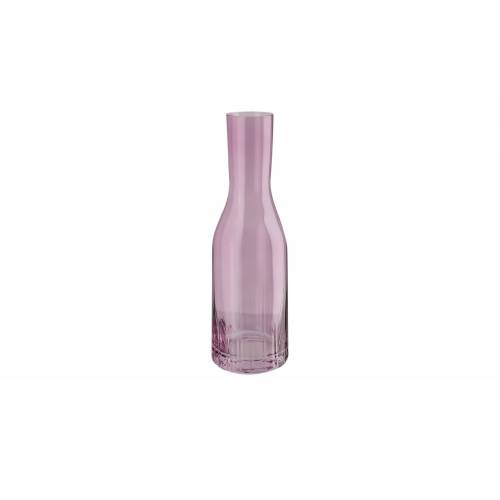 Peill+Putzler Karaffe mit Optik 1,2 L  Tavolo ¦ rosa/pink ¦ Glas Ø: 9