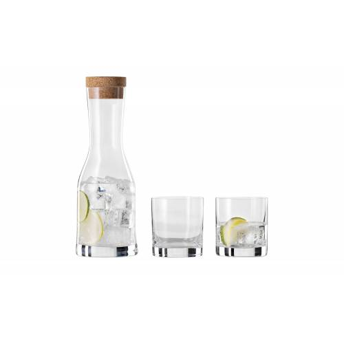 Höffner Wasser-Set, 4-teilig ¦ Kristallglas